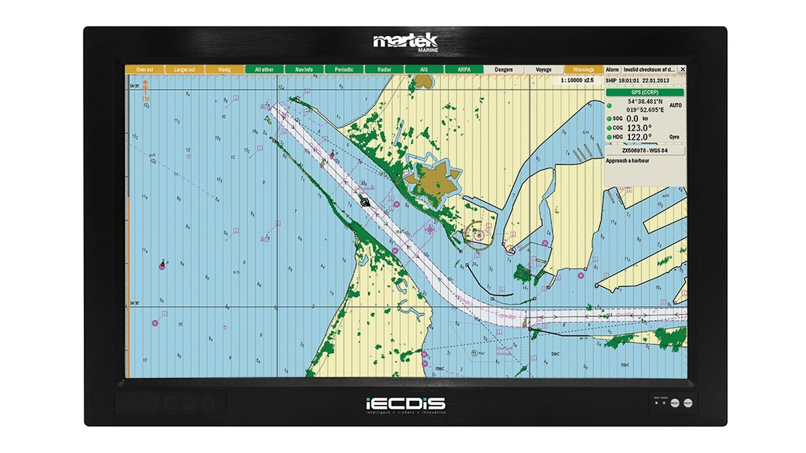 What are the advantages of hiring an ECDIS?
