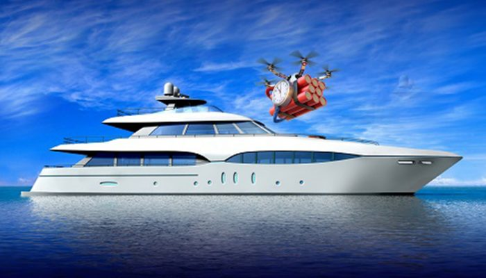 Detect & Defeat Drone Threats for Superyachts Ships