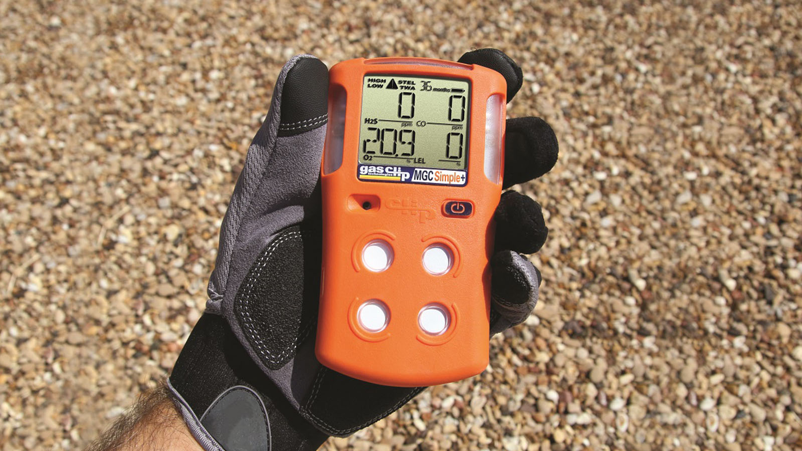 How does a gas detector work?