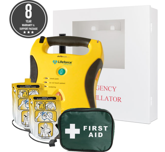 LIFEFORCE® AED – Silver Package