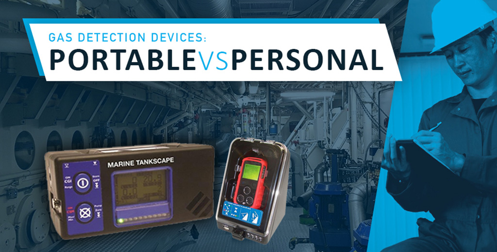 Personal or Portable Gas Detectors – what's the difference?