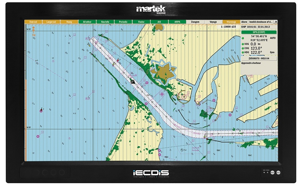 Be fully ECDIS compliant with no hidden costs or ongoing charges