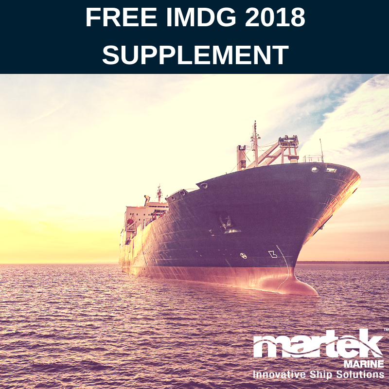 IMDG Code: Free Supplement for first 100 customers