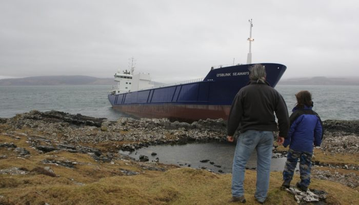 Cargo Ship Destroyed by Over the Limit Officer