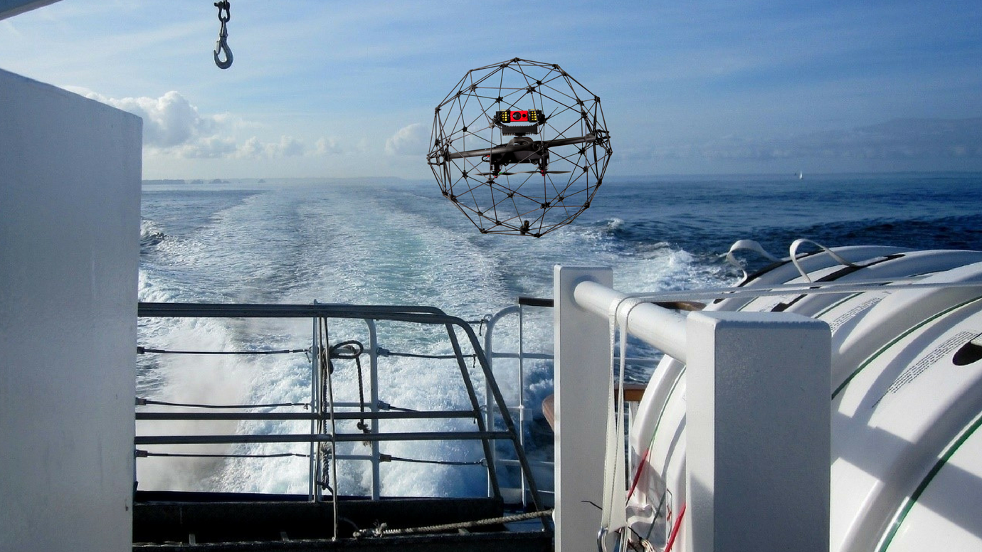 How drone technology is improving safety in the maritime industry